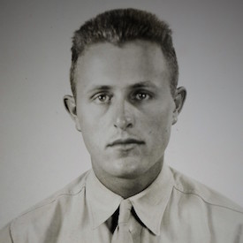 Charles Perry's official military photograph, 1943. National Archives and Records Administration.